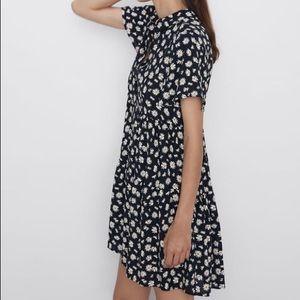 ZARA Daisy Print Dress